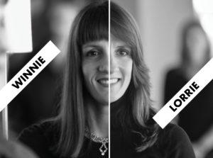 Winnie Hart and Lorrie Lee of TwinEngine